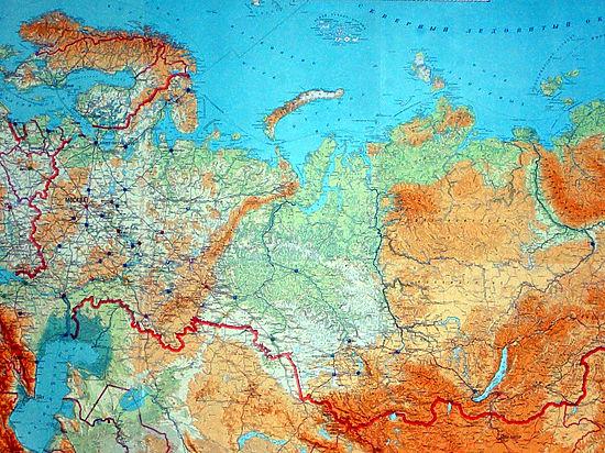 Эксперты составили карту «напряженности» России