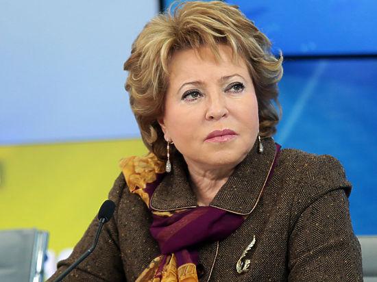 Матвиенко прокомментировала просьбу освободить воздушное пространство Сирии