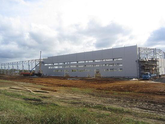 В регионе 33 продолжается строительство завода по производству автобусов