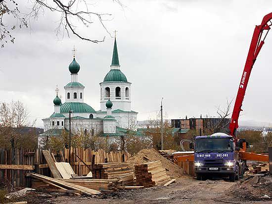 МЧС России по Бурятии нашло свое место на кладбище