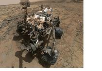 Марсоход Curiosity прислал на Землю свое селфи