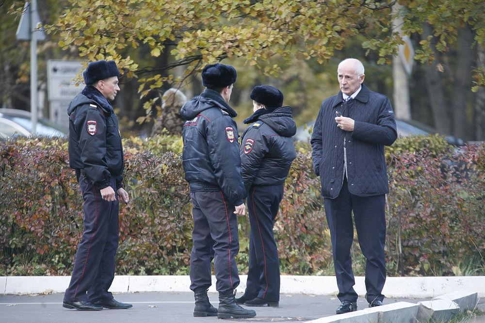 Место расстрела чиновников в Красногорске: город полон милиции