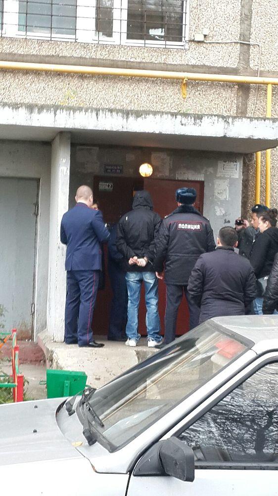Отец-детоубийца приехал на место преступления в Подольске