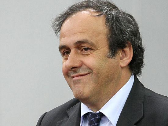 Футбол: Платини примет участие в выборах президента ФИФА