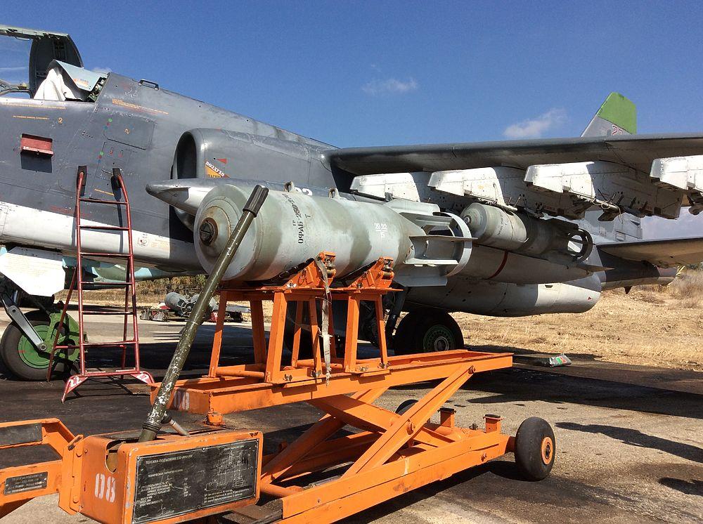 Как вооружают бомбами российские самолеты в Сирии
