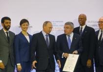 Путину объяснили пользу Олимпиад на примере воровства приемников