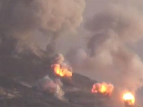Операцию проводила сирийская армия