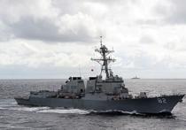 """Американский эсминец устроил """"провокацию"""" в Южно-Китайском море"""