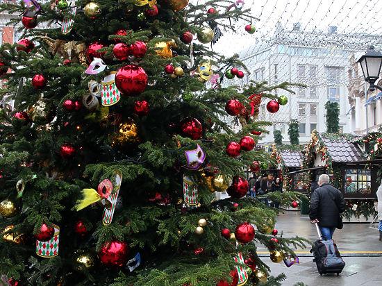 К Новому году в Москве будут ароматизировать улицы