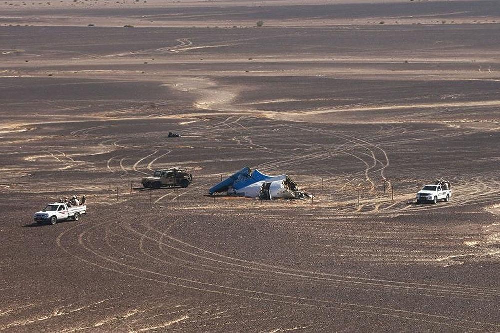 Спасатели продолжают расследование крушения аэробуса А321 погибшего на Синайском полуострове