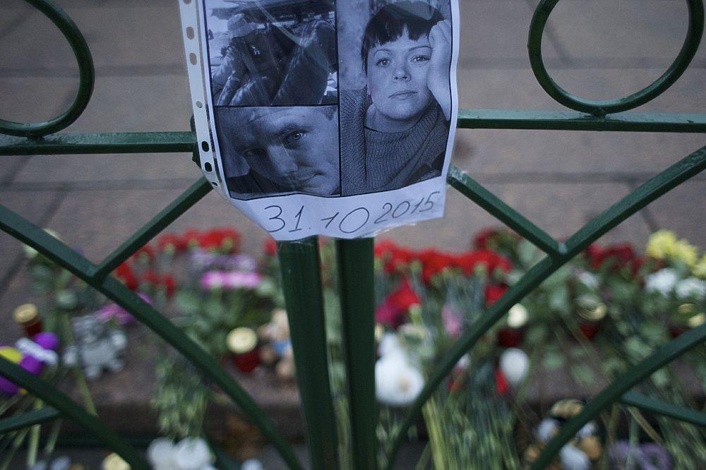 Лица горя: петербуржцы собрались почтить память погибших в крушении A321