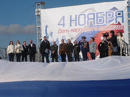Ставрополь отметил на Крепостной горе тройной праздник