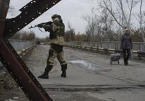 На Донбассе удары