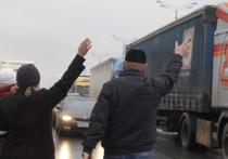Как водители фур выражали свое возмущение в разных регионах России