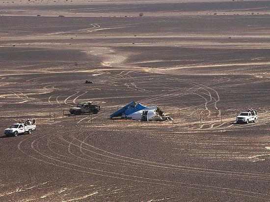 Недалеко от места крушения А321 на Синае произошел теракт