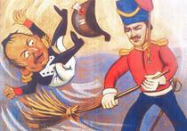 """Лидер ЛДПР Владимир Жириновский крайне возмущен тем, что французский сатирический журнал """"Charlie Hebdo"""" опубликовал новую карикатуру на крушение российского самолета А321 на Синайском полуострове"""