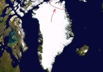 На северо-востоке крупнейшего на Земле острова Гренландия откололся крупнейший ледник
