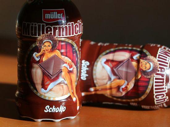 Немцы скандалят из-за шоколадки на бутылке молока