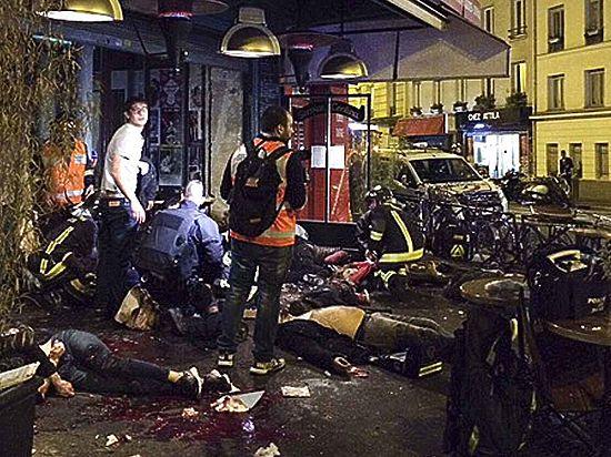 150 убитых, 200 раненых, 8 мертвых террористов