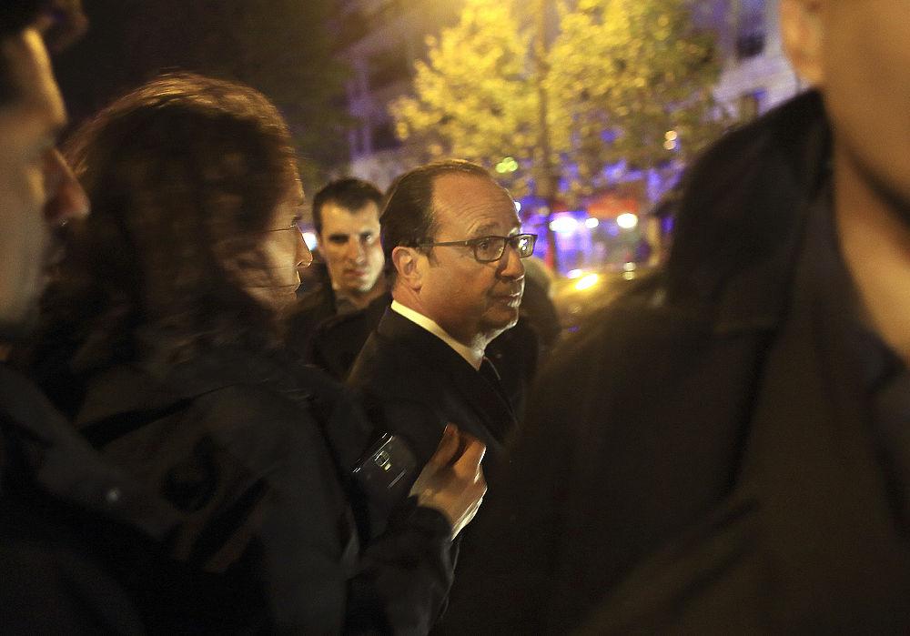Париж в огне: в столице Франции произошло несколько терактов