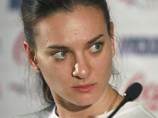 Елена Исинбаева: «Задача номер один — победить Исинбаеву»