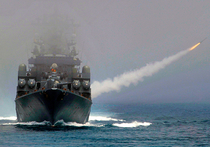 """Французское издание Le Monde сообщает, что Россия запустила крылатые ракеты из Средиземного моря по городу Ракка, который считается оплотом боевиков """"Исламского государства"""" в Сирии"""
