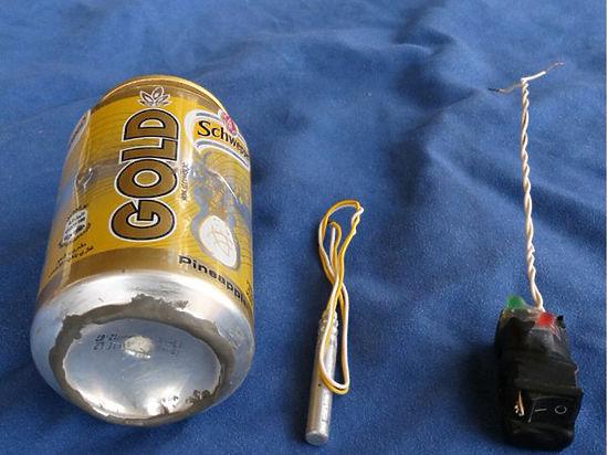 ИГИЛ опубликовала фото деталей бомбы, взорвавшейся в А321