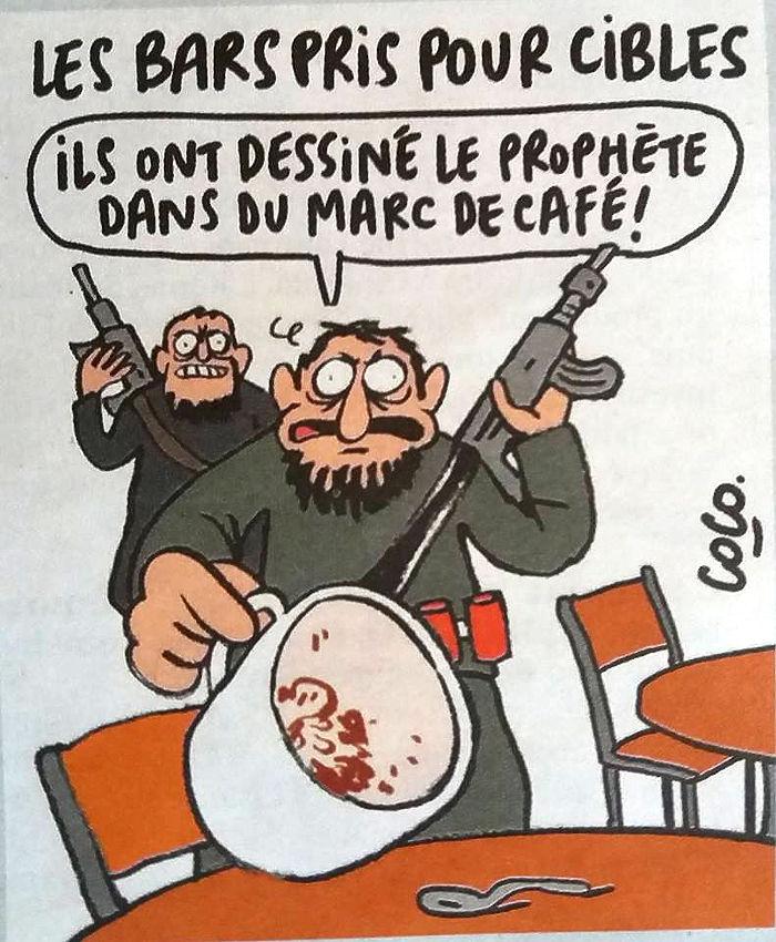 Charlie Hebdo: все карикатуры о терактах в Париже