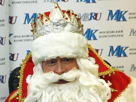 Главный Дед Мороз страны пожаловался на немытые руки