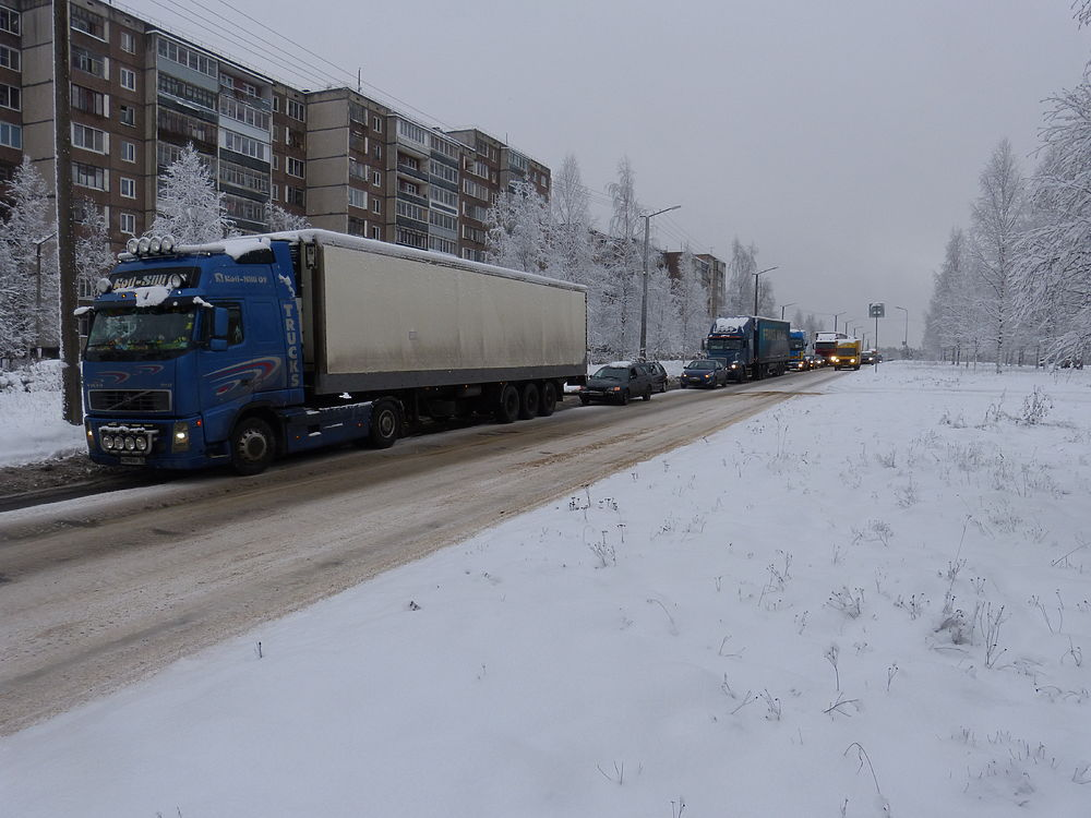 Повторная забастовка дальнобойщиков в Петрозаводске