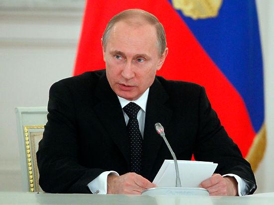 Путин предложил организовать народный контроль за отчетностью бизнеса