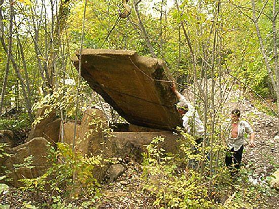 Утверждает российский археолог из Санкт-Петербурга Алексей Резепкин