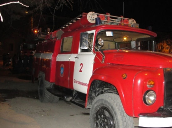 12 человек спасли пожарные в Благовещенске