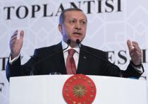 """Турецкий лидер Реджеп Тайип Эрдоган заявил, что его огорчает """"эмоциональная"""" реакция Москвы на инцидент со сбитым российским бомбардировщиком Су-24"""