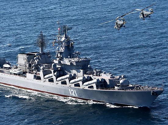 Турция может закрыть проливы для крейсера «Москва», охраняющего базу «Хмеймим»