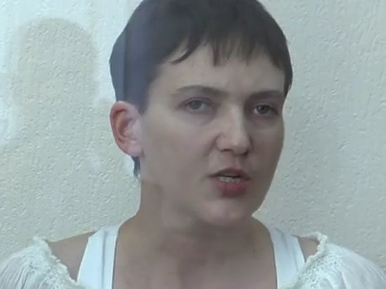Савченко, глядя на прокуроров, пообещала