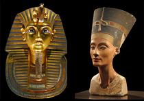 Известный египтолог Николас Ривз утверждает, что легендарная золотая маска фараона Тутанхамона в действительности была поначалу создана для царицы Нефертити (она была его мачехой)