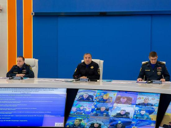 Подготовку к реагированию в период новогодних праздников завершили сотрудники МЧС России