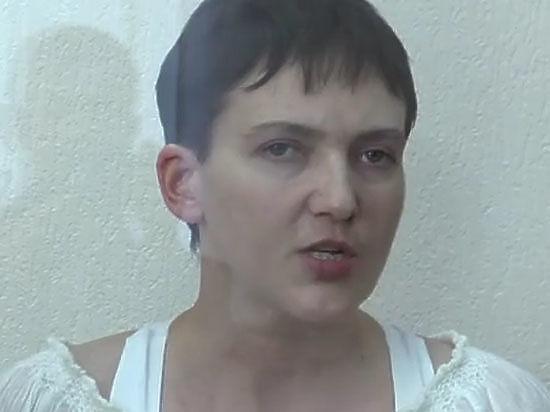 Савченко хочет, чтобы с нее сняли обвинения из-за плохого зрения