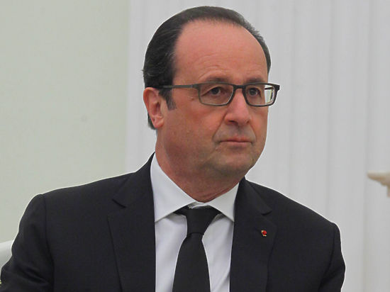 Олланд решил лично проверить, как воюют французы в Сирии