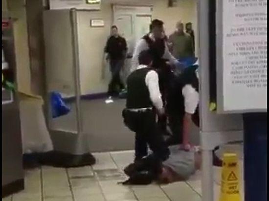Опубликовано видео теракта в лондонском метро