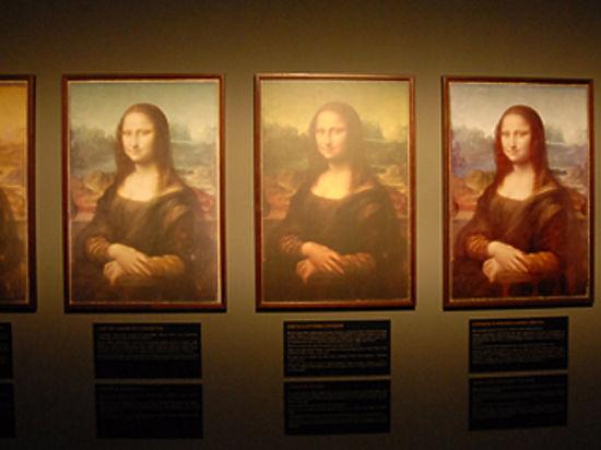 Найти под «Моной Лизой» другой портрет удалось благодаря «Черному квадрату»