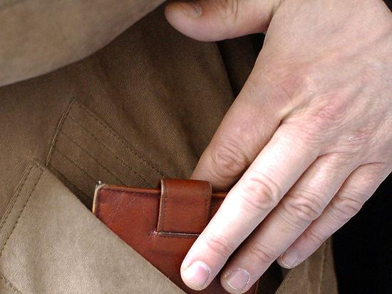 В Москве возросло количество карманных краж