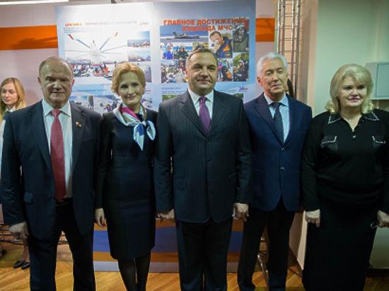 В Государственной Думе открылась выставка, посвященная 25-летию МЧС России