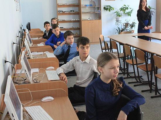 Урок-событие: В школах Симферополя проходит всероссийская акция #ЧасКода