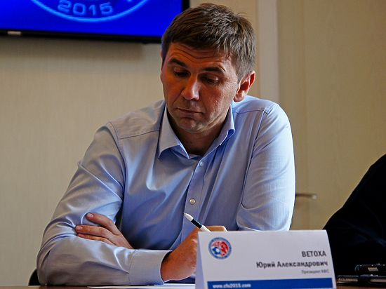 Президент Крымского футбольного союза Юрий Ветоха: