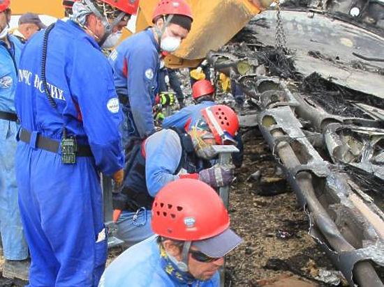 Спасатель рассказал о поисковой операции  на месте крушения А321