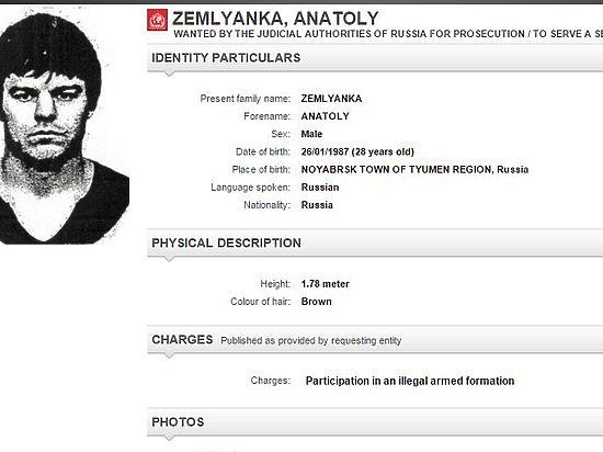 Джихади-Толиком, казнившим российского шпиона, занялся Интерпол