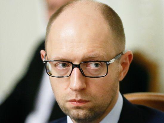 Верховная рада может отправить Яценюка в отставку