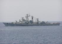 Серьезный инцидент произошел в воскресенье в северной части Эгейского моря между российским военным кораблем «Сметливый» и турецким рыболовным сейнером